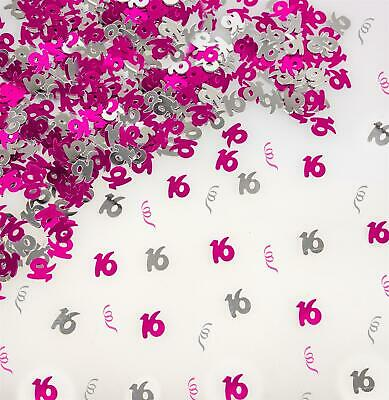 $2.47 • Buy 16th Pink Scatter Confetti Sprinklers Table Decoration Wedding Anniversary