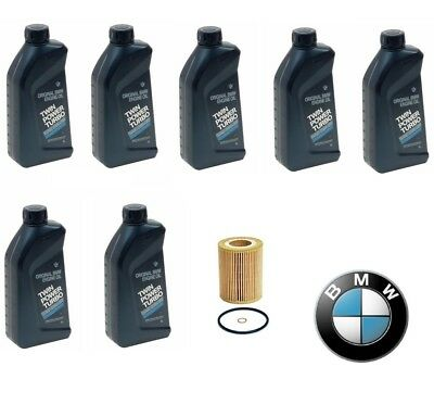 $ CDN118.07 • Buy Genuine 7-Quarts Synthetic For BMW 5w30 Motor Oil &1 Oil Filter For BMW