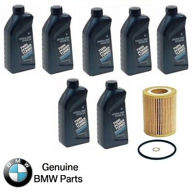 $ CDN119.44 • Buy For BMW Engine Oil 5W-30 Synthetic Set Of 7 Bottles+Engine Oil Filter
