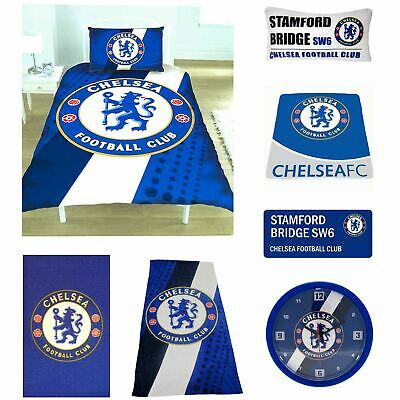 £13.90 • Buy Official Chelsea Football - Duvet Cover Sets, Rug, Lamp, Street Sign Available