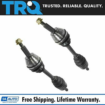 $139.95 • Buy TRQ New CV Axle Shaft Assembly Pair Set Front For Aviator Explorer Mountaineer