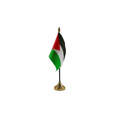 £5.49 • Buy Palestine Table Desk Flag - 10 X 15 Cm National Country Hand Asia