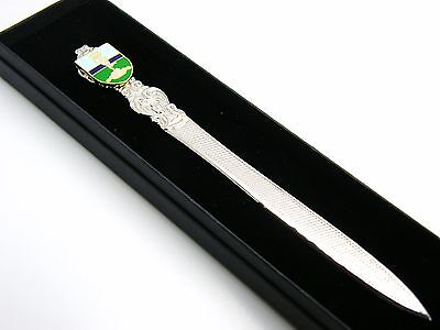 The Royal Corps Of Signals Badge Letter Opener Military Gift In Box • 14.99£