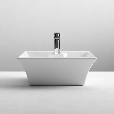 £75.95 • Buy Nuie Vessels Sit-On Countertop Basin 480mm Wide - 1 Tap Hole