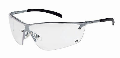 £9.62 • Buy Bolle Silium Safety Glasses Spectacles - Clear Lens - Anti Mist - SILPSI