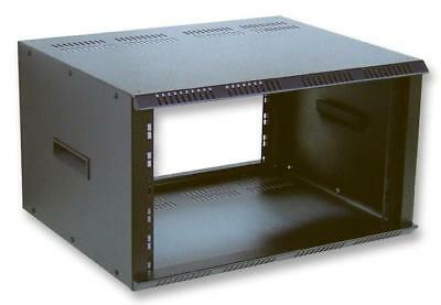 8U 19  Black Contractor Steel Rack Enclosure - 453mm Deep • 219.74£
