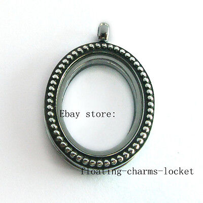 $ CDN36.68 • Buy Wholesale Lots 10pcs Vintage Antique Oval  Floating Charms Memory Glass  Lockets