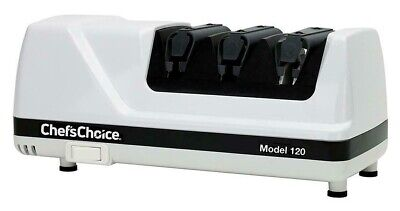 Chefs Choice Diamond Hone EdgeSelect Professional Electric Knife Sharpener 120 • 149.99$