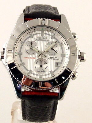 £312.32 • Buy Chronotech Dual Face Chronograph Day-date By Breil Men's Watch