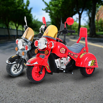 £38.99 • Buy Electric Kids Motorbike Ride On Retro Toy Car Battery Operated Children W/ Sound