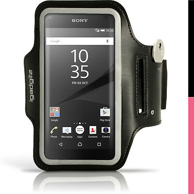 Running Jogging Sports Armband For Sony Xperia Z5 Compact E5803 5823 Fitness Gym • 2.99£