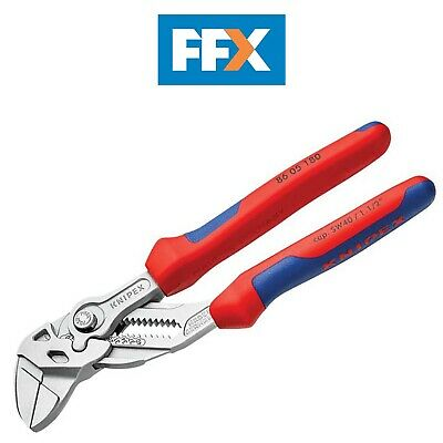 £55.01 • Buy Knipex 8605180SB Plier And Wrench Comfort Grip 35mm Capacity