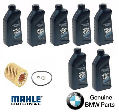 $ CDN120.76 • Buy 7-Quarts Genuine Synthetic For BMW 5w30 Motor Oil & 1 Oil Filter For BMW 325XI