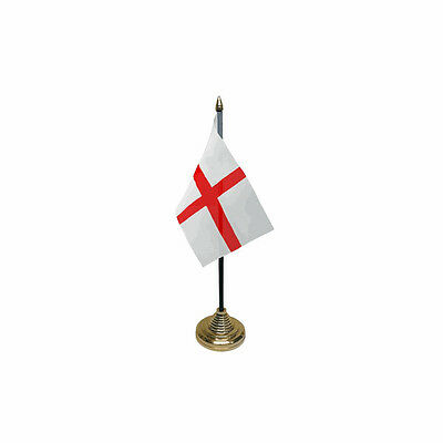 £5.99 • Buy St George Table Desk Flag - 10 X 15 Cm National Country Hand England