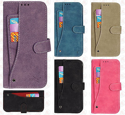 $ CDN12.47 • Buy For Samsung Galaxy S7 EDGE Premium Slide Out Pocket Wallet Case Pouch Cover