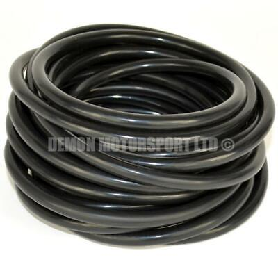 £2.15 • Buy Black Silicone Vacuum Hose Pipe - Vac Air Water Coolant (PICK SIZE And LENGTH)