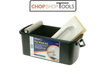 Vitrex Tile Grouting Kit Tiling Float Tools Grout Wash Squeegee Sponge VIT102905 • 21.85£