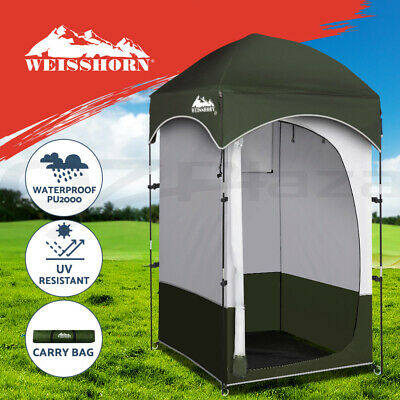 AU60.95 • Buy Weisshorn Shower Tent Outdoor Camping Portable Changing Room Toilet Ensuite
