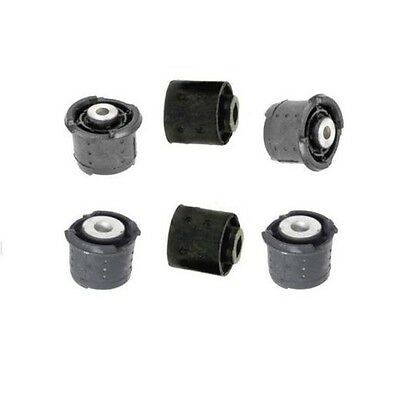 $119.92 • Buy For BMW E46 Rear Subframe Mounts 6pcs Differential Axle Carrier Support Bushing