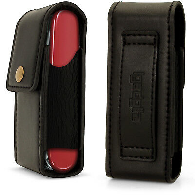 £9.99 • Buy Black Genuine Leather Pouch Case Cover For Swiss Army Knives (Fit Victorinox)