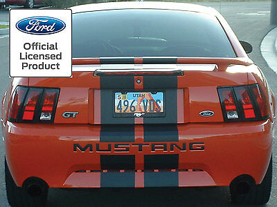 $11.99 • Buy 2002 2003 2004 Ford Mustang Letters Rear Bumper Inserts Vinyl Decals Fits 99-04