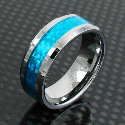Opal Wedding Band.Mens Opal Wedding Band