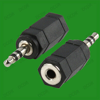 £0.99 • Buy 1x 3.5mm Female Plug To 2.5mm Male Jack Stereo Adaptor Converter, Nokia Sony Etc