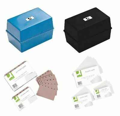 £2.79 • Buy Quality Index Box/Guide Cards/Record Cards Filing System (Office/Student/Home)