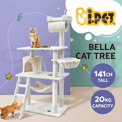 AU109.90 • Buy I.Pet Cat Tree Trees Scratching Post Scratcher Tower Condo House Furniture Wood
