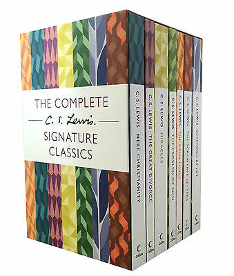 £16.48 • Buy The Complete C. S. Lewis Signature Classics 7 Books Boxed Set Collection