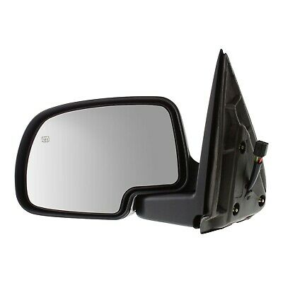 $35.79 • Buy Smooth Black Power Heated Left Driver Side Mirror Fits Cadillac Chevrolet GMC