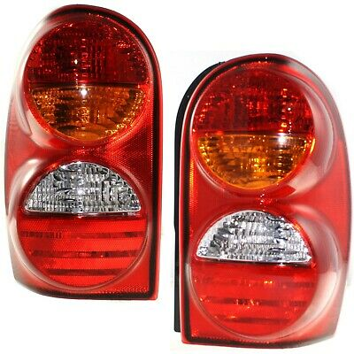 $99.85 • Buy Set Of 2 Tail Light For 2002-2004 Jeep Liberty Sport LH & RH W/ Bulb(s)