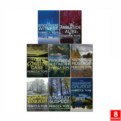 Lake District Mysteries Series 8 Books Collection Set By Rebecca Tope NEW Pack • 29.99£