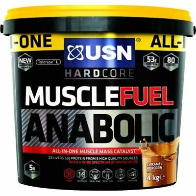 £29.99 • Buy USN Muscle Fuel Anabolic All-In-One Lean Muscle Gainer 2kg & 4kg AMAZING VALUE
