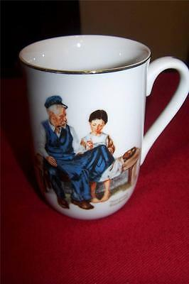 $ CDN5.01 • Buy Vintage 1982 Norman Rockwell Museum 'The Lighthouse Keeper's Daughter' Cup Mug