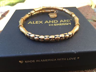 RARE ALEX And ANI VINTAGE 66 Indie Spirit PEBBLE PATH STEPPING STONE Beaded Wrap • 38.34£