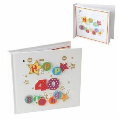 £13.95 • Buy Talking Pictures Fanfare Age 40 Birthday Photo Album 40th