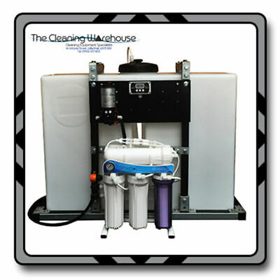 250L FRAMED BUDGET PURE WATER SYSTEM - 300GPD RO/DI Kit - Window Cleaning • 1,150£