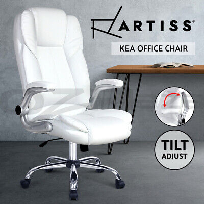 AU179.95 • Buy Artiss Gaming Office Chair Executive Computer Chairs Armchair Work Seating White