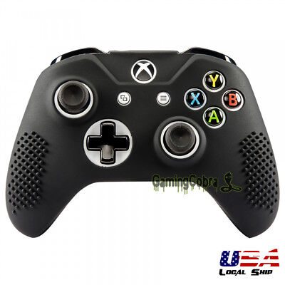 $8.99 • Buy Soft Silicone Gel Grip Cover Sleeve Skin For XBOX ONE S ONE X Controller Black