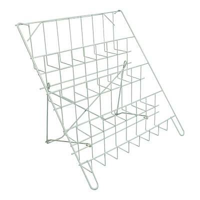 £25.47 • Buy Card Rack - Counter Standing & Collapsible In White For Shops & Stalls (E8W)