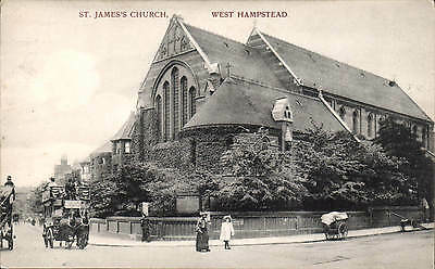 £10.50 • Buy West Hampstead. St James's Church # 797 By Charles Martin.