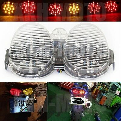 $33.06 • Buy Tail Light For Yamaha YZF R6 2001 2002 LED Integrated Turn Brake CLEAR