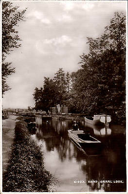 Send Near Woking. Canal Lock # 61923 By Frith. • 15£