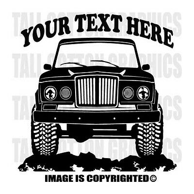 $10 • Buy JEEP GLADIATOR PICKUP  TRUCK  1963-1969 - 4x4 Offroad Personalized Vinyl Decal