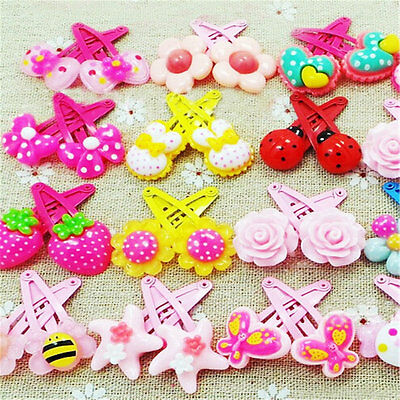 $1.89 • Buy Wholesale 20 Pcs Mix Styles Assorted Baby Kids Girls HairPin Hair Clips Jewelry