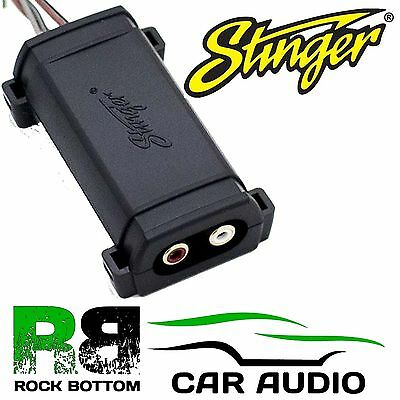 Stinger SGN111 Car Speaker Wire To 2 Channel RCA 30w Fixed Line Output Converter • 19.95£