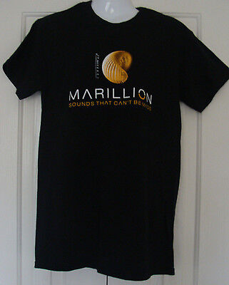 £11.99 • Buy T Shirt Marillion : Sounds That Can't Be Made European Tour 2012 / 2013  Black