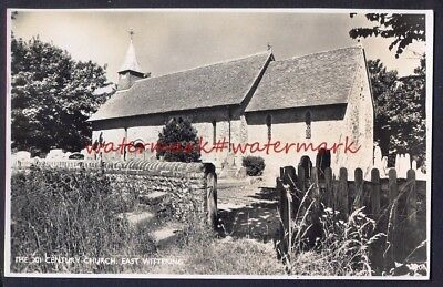 The Church, EAST WITTERING, Sussex. Vintage Real Photo Postcard, 1958 • 3.95£