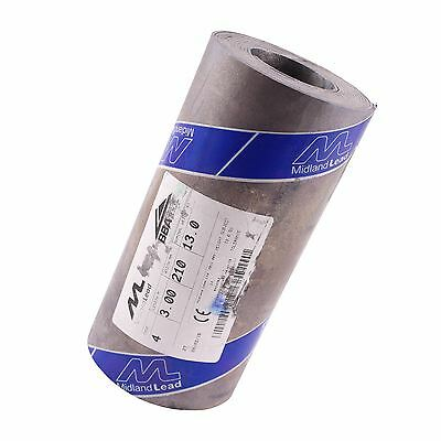 210mm 8  Inch Code 4 Lead Flashing Roll Roof Roofing Repair Midland Lead • 28.20£